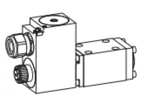 Клапан золотниковый с электромагнитным управлением, взрывозащищенный Ex d II C