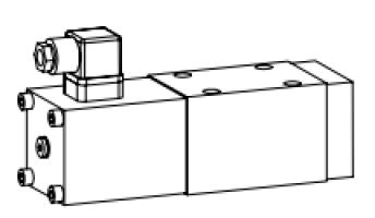Клапан тарельчатый фланцевый с электроуправлением
