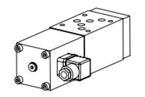 Клапан тарельчатый модульный с электроуправлением