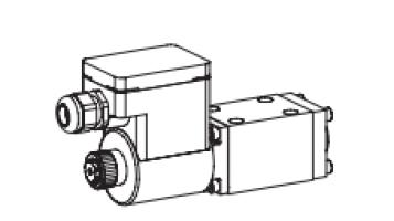 Клапан тарельчатый фланцевый с электроуправлением, взрывозащищенный EEx em II