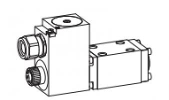 Клапан тарельчатый фланцевый с электроуправлением, взрывозащищенный Ex d II C