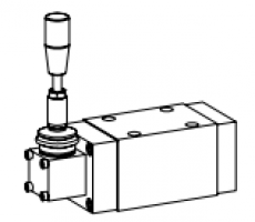 Клапан тарельчатый фланцевый с ручным управлением