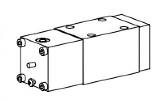 Клапан тарельчатый фланцевый с пневматическим управлением