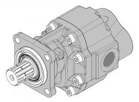 Шестеренные насосы серии GEAR ISO