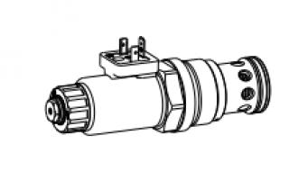 Предохранительный клапан пропорционального давления