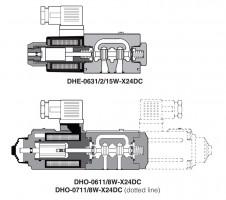 DHE 15W DHO 8W Клапаны соленоида малой мощности