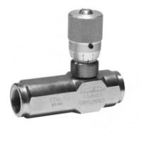Дроссель тонкой настройки с обратным клапаном VRFU 90