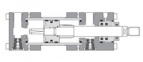 Гидроцилиндры средней серии CH до 200 мм, 250 бар